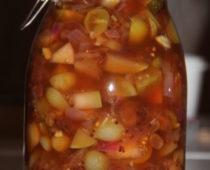 hjemmelaget tomatchutney på lizas småbruk – oppskrift