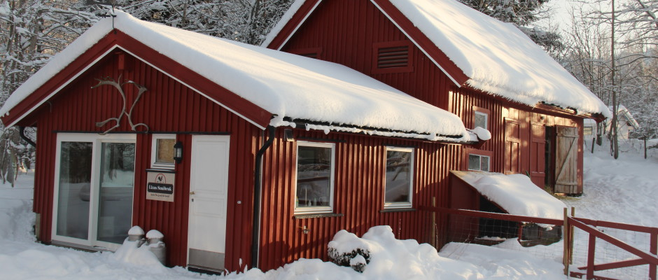 småbruket om vinteren
