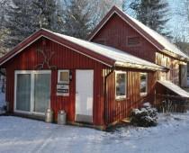 kurskjøkkenet på lizas småbruk om vinteren