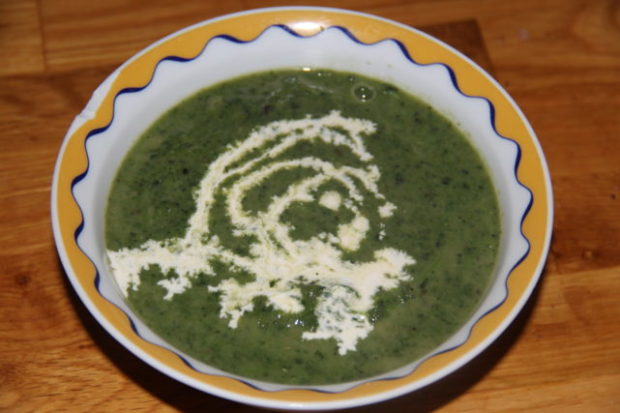 Brennesle suppe! Oppskrift