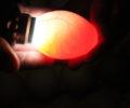 ultralyd på egg – lyse egg