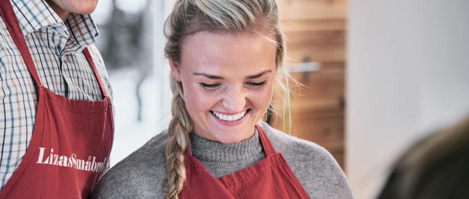 På kurskjøkkenet på Lizas Småbruk